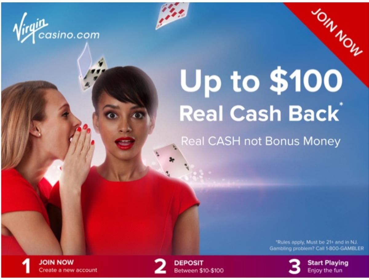 Virgin Casino promo code