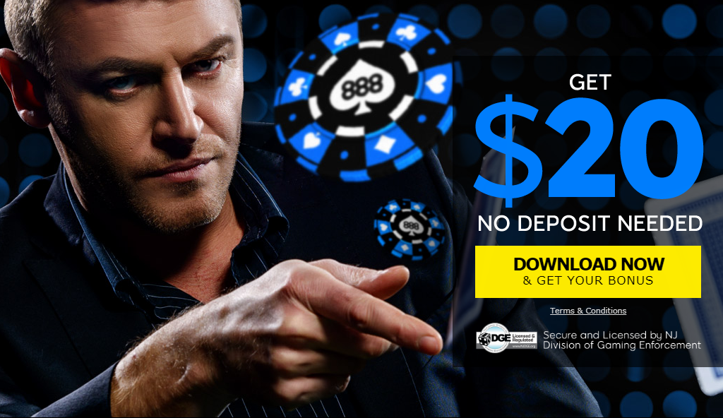 888 poker nj no deposit