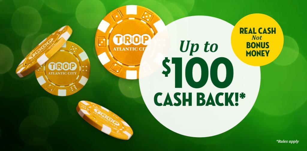 tropicana casino online promo code